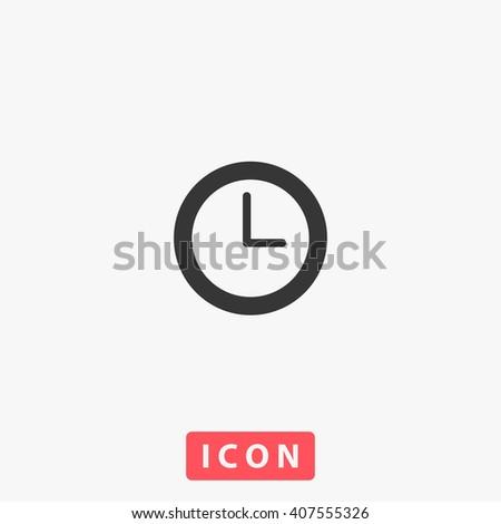 clock Icon. clock Icon Vector. clock Icon Art. clock Icon eps. clock Icon Image. clock Icon logo. clock Icon Sign. clock Icon Flat. clock Icon design. clock icon app. clock icon UI. clock icon web - stock vector