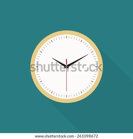Clock icon - Vector - stock vector