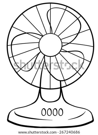 electric fan coloring pages - photo #18