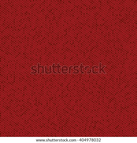 Cloth Jersey Overlay Hand Made Texture Of Red Color For Your Design. Hand Made. Grunge design Empty Element. EPS10 vector. - stock vector
