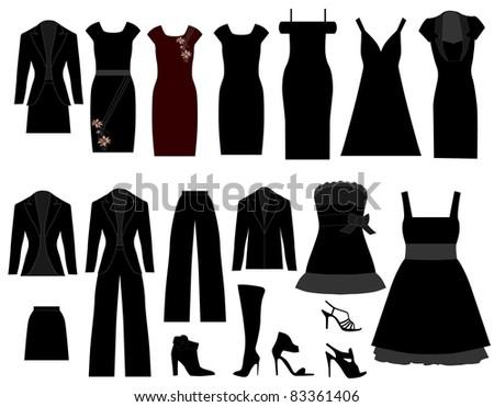 Cloths - stock vector