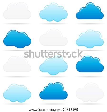 cloud - stock vector