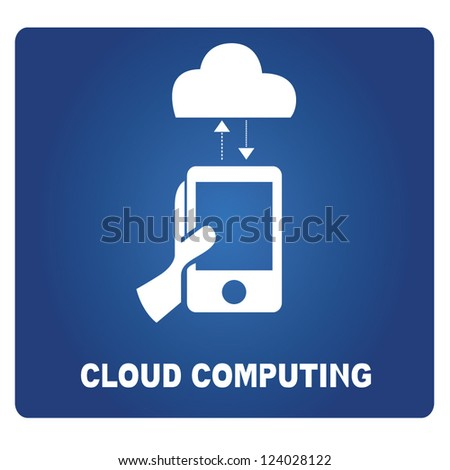 cloud computing - stock vector