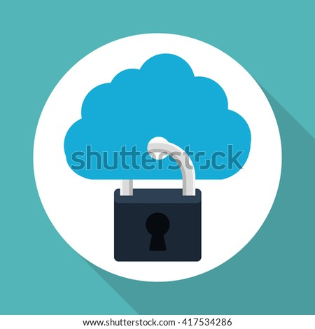 cloud computing design. social media icon. online concept
