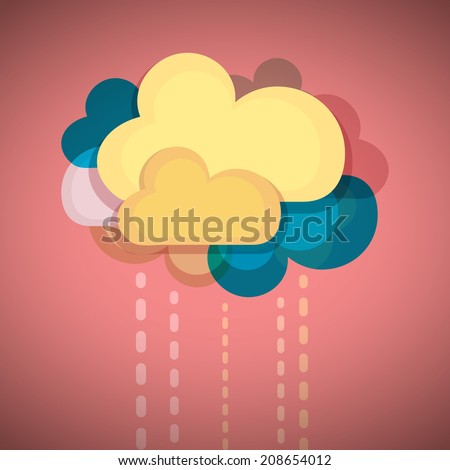 Cloud Connection - stock vector