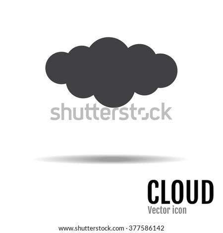 Cloud Icon Vector, EPS. Cloud Icon JPEG. Cloud Icon Object. Cloud Icon Picture. Cloud Icon Image. Cloud Icon Graphic. Cloud Icon Art. Cloud Icon JPG.  Cloud Icon Drawing - stock vector. - stock vector