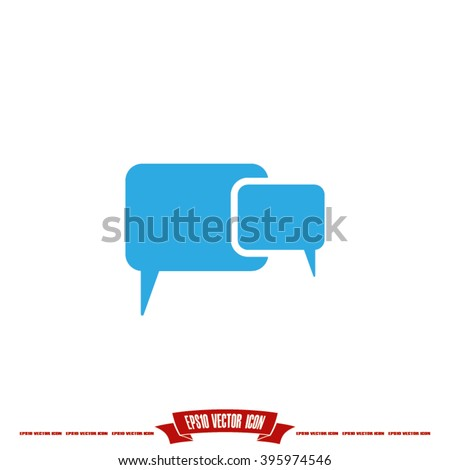 cloud thought icon vector illustration eps10. - stock vector