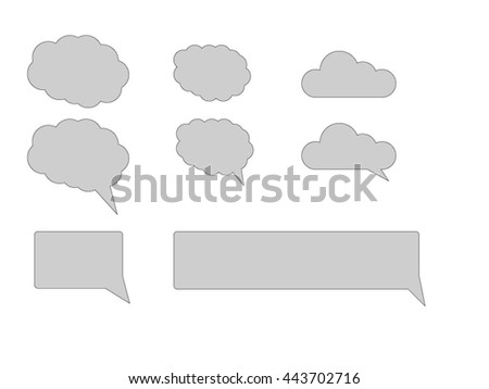 clouds text box