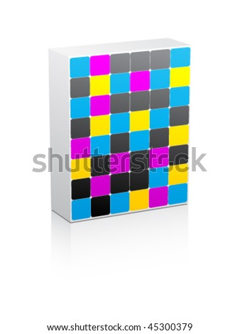 CMYK colors - stock vector