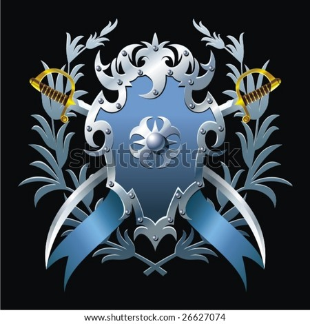 Coat of arms. - stock vector