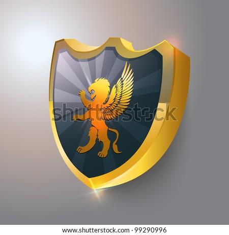 Coat of arms vector. EPS 10 - stock vector
