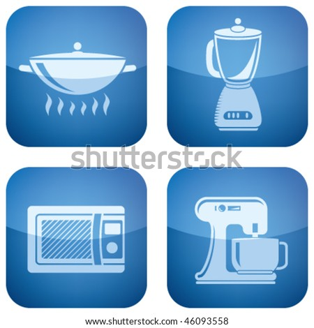 2d icons stock images royalty free images vectors for Kitchen set 2d