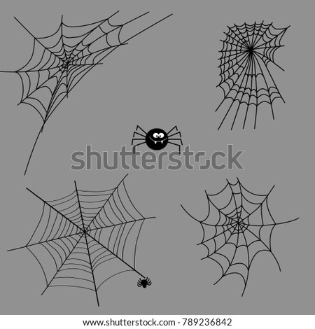 Spiderweb Vector Stock Images, Royalty-Free Images ... Vector Spider Web Design
