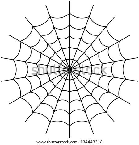 cobweb vector - stock vector