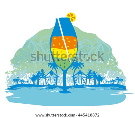Cocktail Party icon - stock vector