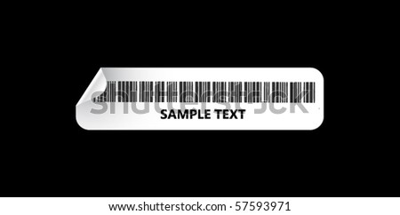 Code Bar - stock vector