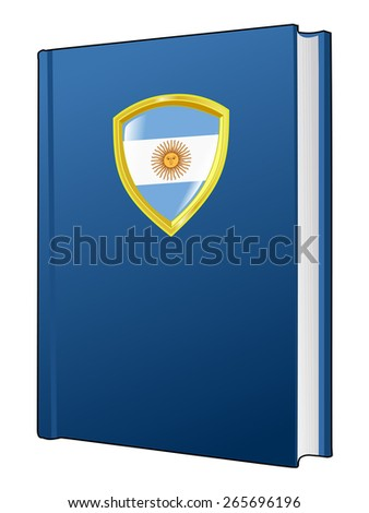 code of laws of Argentina - stock vector