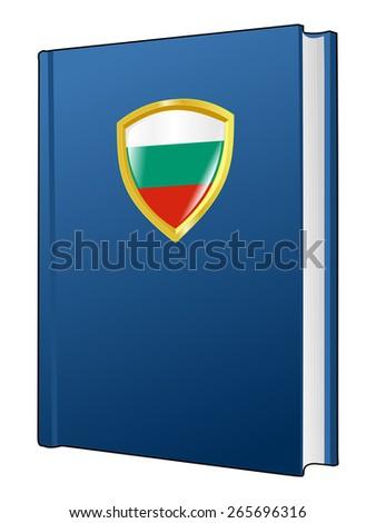 code of laws of Bulgaria - stock vector