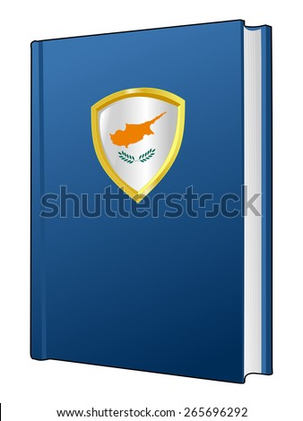 code of laws of Cyprus - stock vector