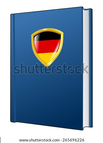 code of laws of Germany - stock vector