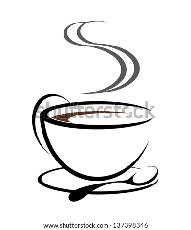 Cofee illustration - stock vector