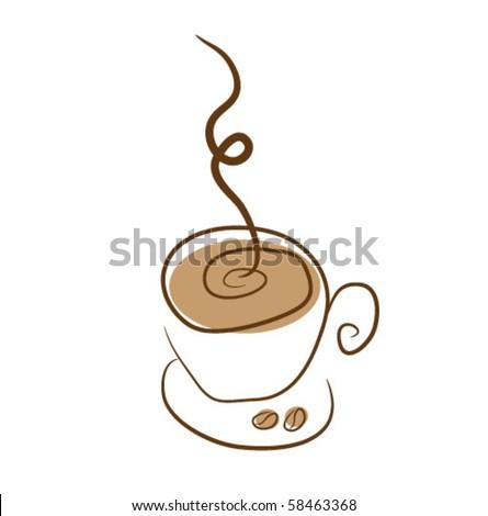 coffee - stock vector