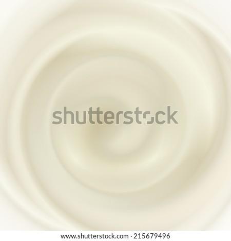 coffee and milk cream texture - stock vector