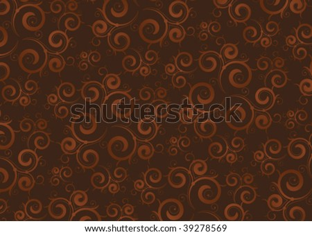 coffee color background - stock vector
