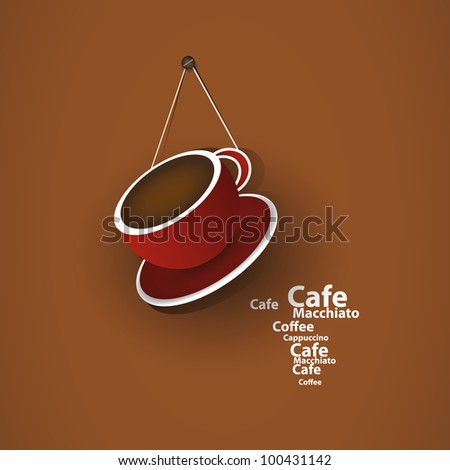Coffee Cup Concept - stock vector