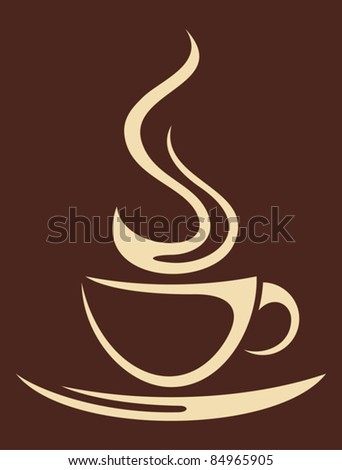 coffee cup (Cup of coffee) - stock vector