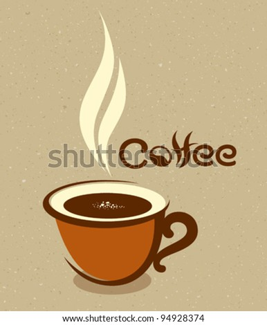 Coffee cup design vector illustration - stock vector