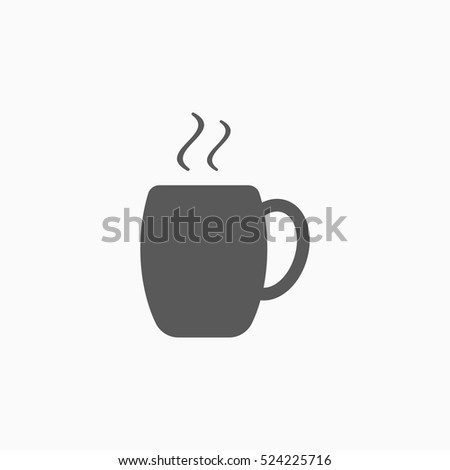 Coffee Cup Icon Chocolate Cup Vector