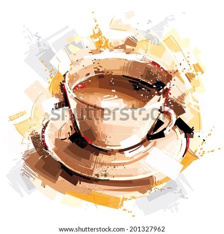 Coffee Energy - stock vector