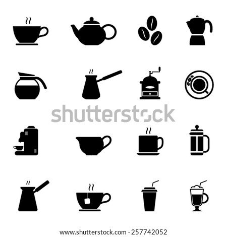 Coffee Icons - stock vector