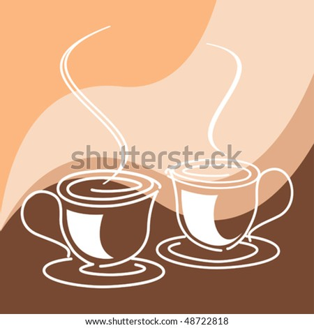 Coffee or tea cups