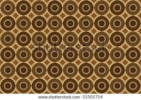 coffee pattern - stock vector