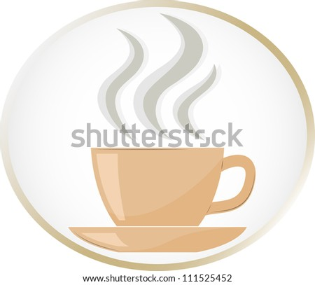 Coffee / tea cup - stock vector