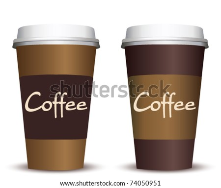 coffee to go - stock vector