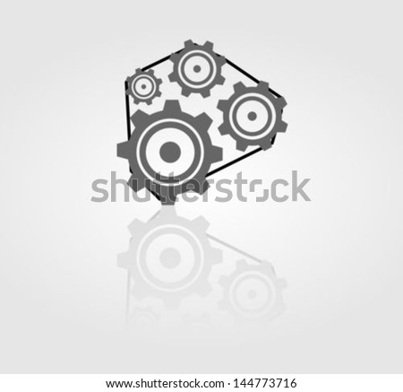 Cog  mechanism icon