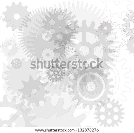 CogWheel Background. Vector - stock vector