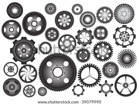 Cogwheels - stock vector