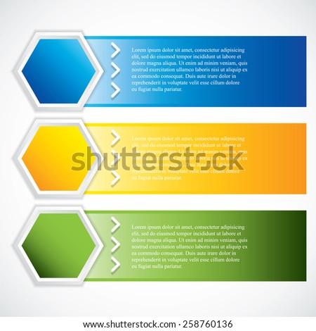 Collection banner design.Vector illustration. - stock vector