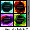 Collection of abstract background. Vector illustration - stock vector