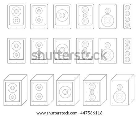 surround system stock photos  royalty