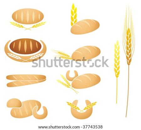 Whole Wheat Icon Stock Vector 41336239 - Shutterstock