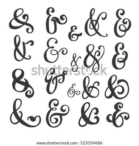 Ampersand Stock Images Royalty Free Images Vectors