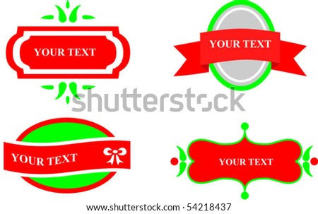 Collection of design elements and icons - stock vector
