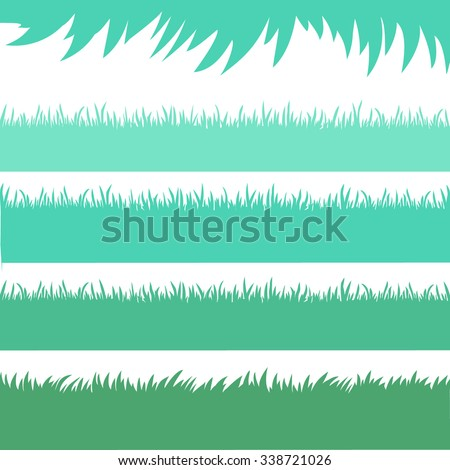 Collection of grass - Illustration