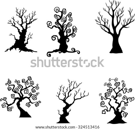 Spooky Tree Stock Images, Royalty-Free Images & Vectors | Shutterstock
