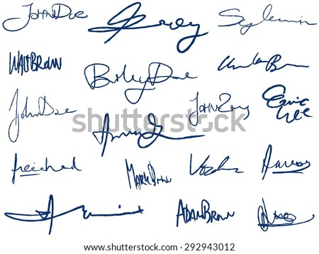 signature stock images royalty free images amp vectors